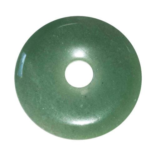 pi chinois donut aventurine verte 50mm