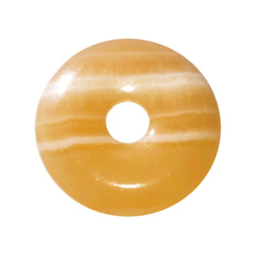 pi chinois donut calcite orange 40mm