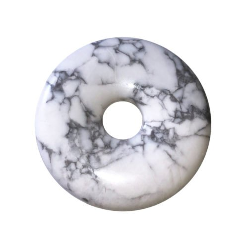 pi chinois donut howlite 40mm