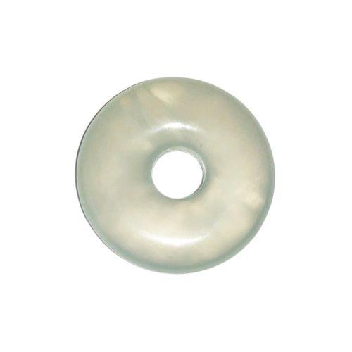 pi chinois donut jade vert 20mm