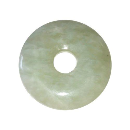 pi chinois donut jade vert 40mm