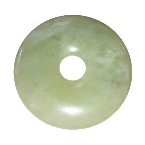 pi chinois donut jade vert 50mm