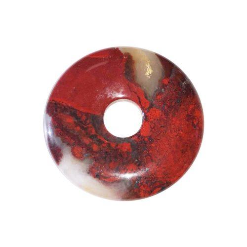 pi chinois donut jaspe bréchique 30mm