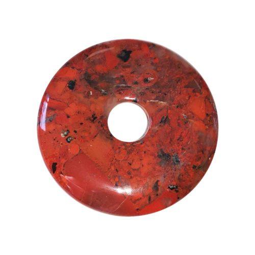 pi chinois donut jaspe bréchique 40mm