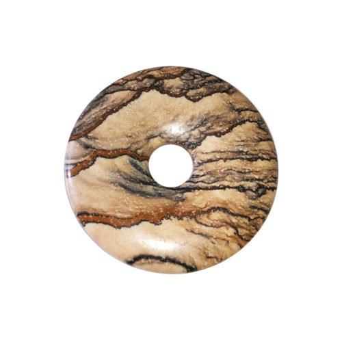 pi chinois donut jaspe paysage 30mm