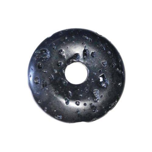 pi chinois donut pierre de lave 30mm