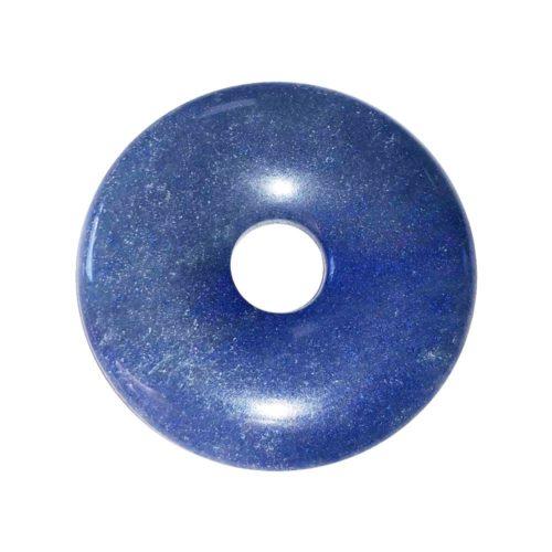 pi chinois donut quartz bleu 40mm