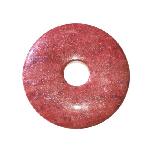 pi chinois donut quartz de feu 40mm