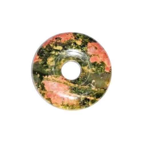pi chinois donut unakite 20mm