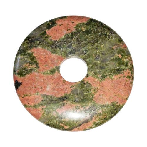 pi chinois donut unakite 50mm