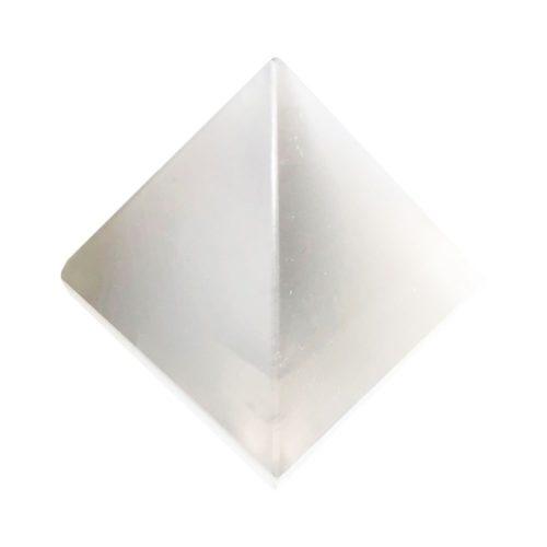 pyramide sélénite 60mm