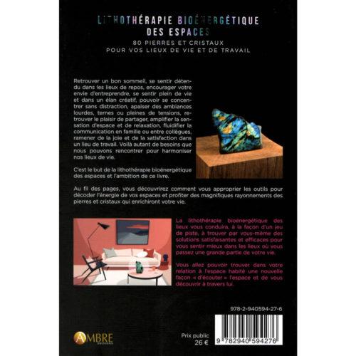 livre lithothérapie Lithothérapie bioénergétique des espaces