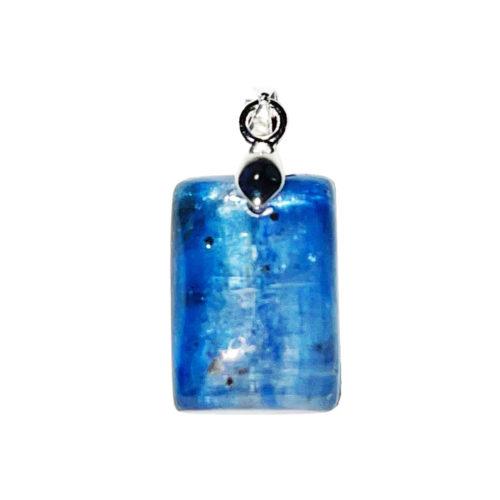 pendentif kyanite pierre plate