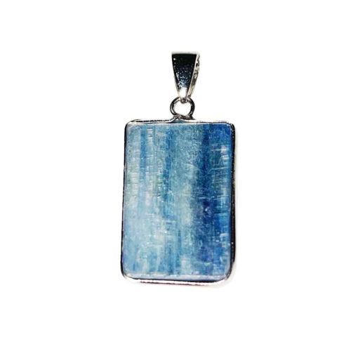 pendentif kyanite trapèze