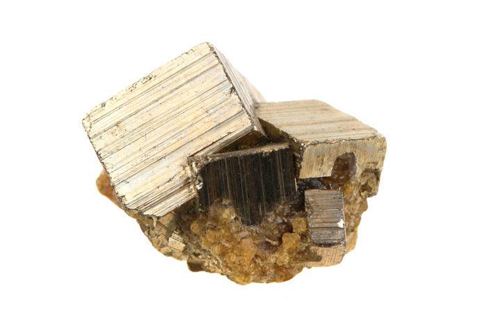 pierre pyrite de fer