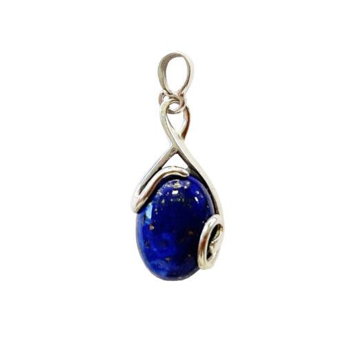 pendentif lapis lazuli oceane argent 925