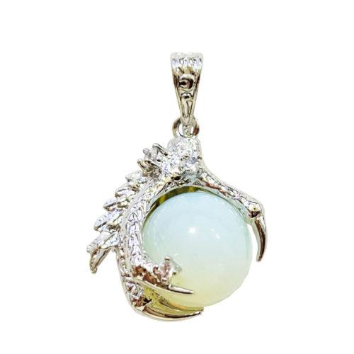 Pendentif Opale synthétique Main de Dragon
