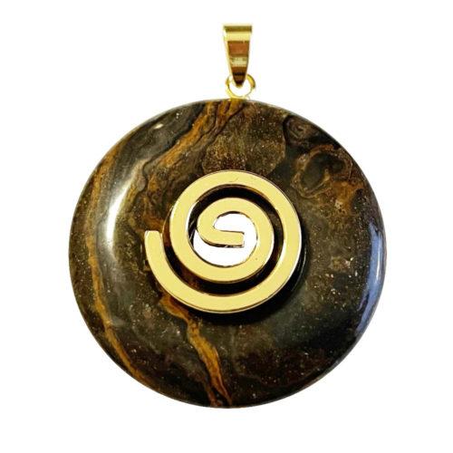 Pendentif Stromatolithe - PI chinois ou Donut