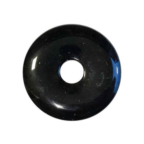 PI Chinois ou Donut Obsidienne argentée