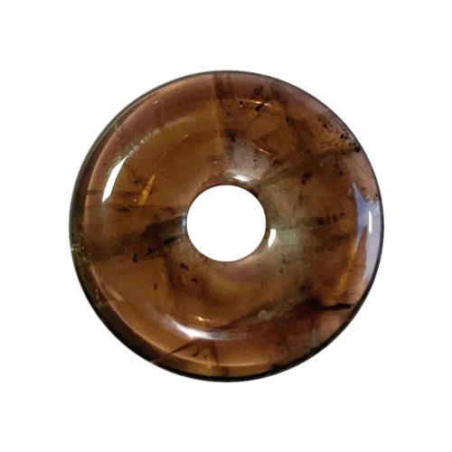 PI Chinois ou Donut Quarz fumé