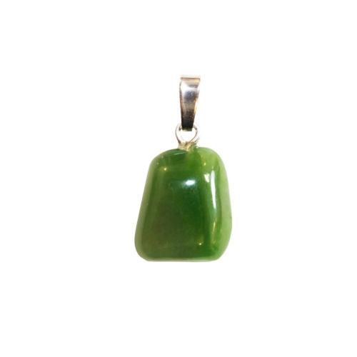 pendentif nephrite pierre roulée