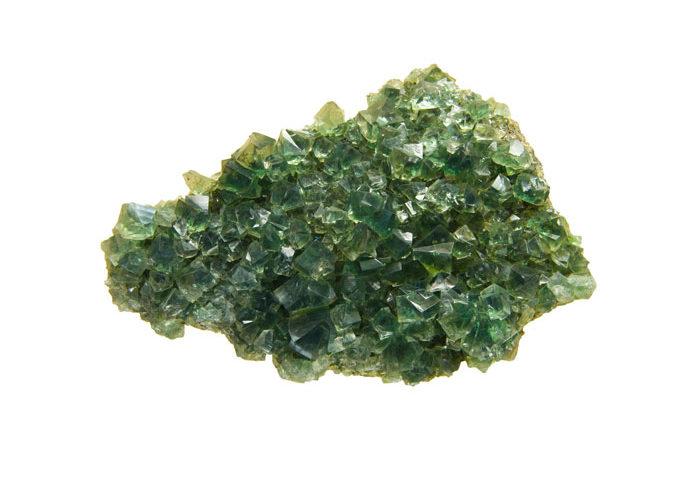 pierre fluorite verte