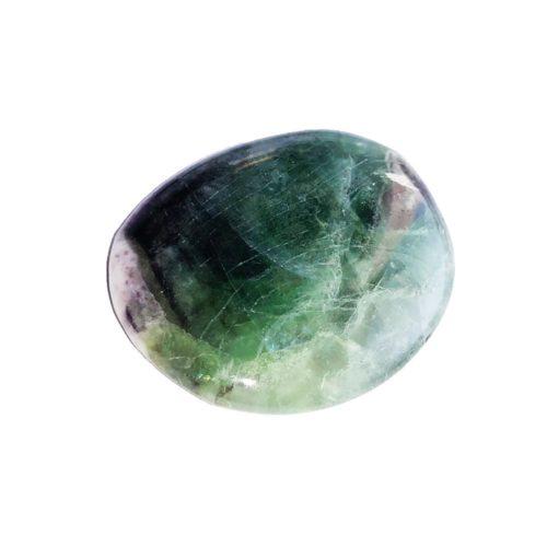 Pierre plate Fluorite multicolore