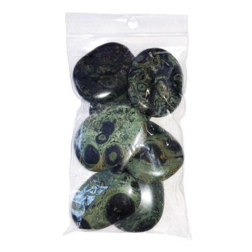 sachet pierres plates jaspe kambamba
