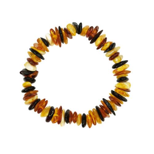 bracelet ambre multicolore pour enfant