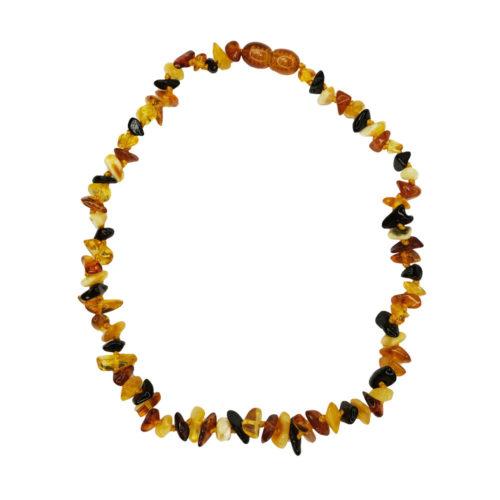 collier ambre multicolore pour enfant