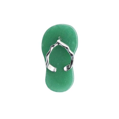 pendentif aventurine verte plage