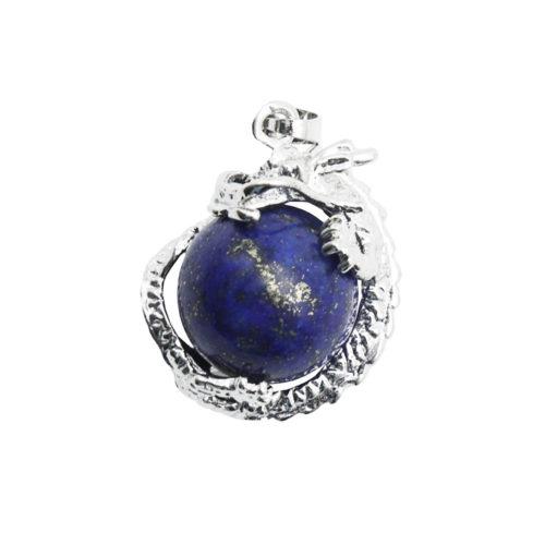 pendentif lapis lazuli dragon