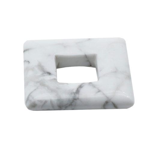 pendentif pi chinois ou donut magnésite carré
