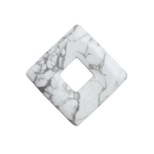 pendentif pi chinois ou donut magnésite petit carré
