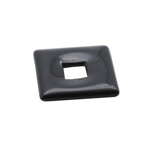 pendentif pi chinois ou donut onyx petit carré