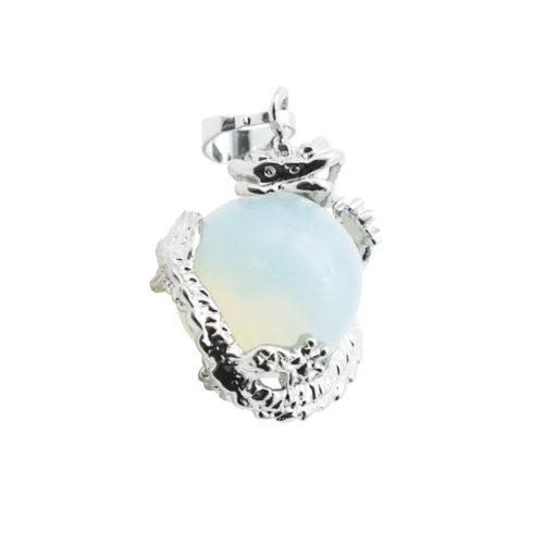 pendentif opale synthetique dragon