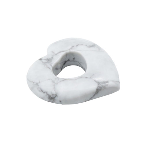 pi chinois ou donut howlite coeur