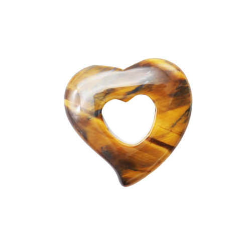 pi chinois ou donut oeil de tigre coeur