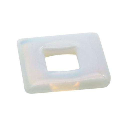 pi chinois ou donut opale synthétique carré