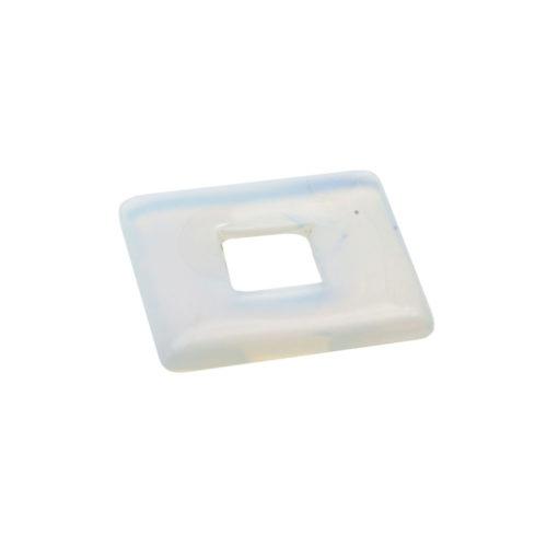 pi chinois ou donut opale synthétique petit carré