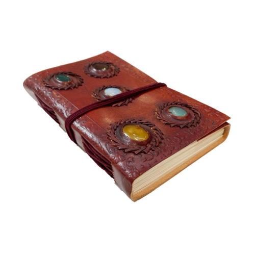 journal-intime-ou-cahier-en-cuir-5-pierres-12-x-17cm-02