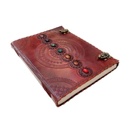 journal-intime-ou-cahier-en-cuir-7-chakras-25-x-33cm-02
