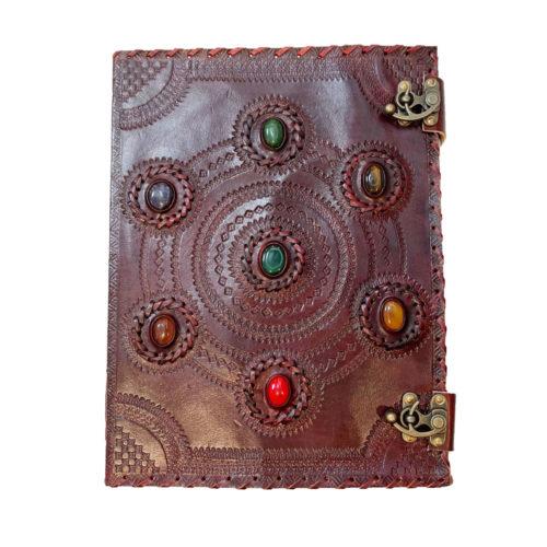 journal-intime-ou-cahier-en-cuir-7-chakras-25-x-33cm-04