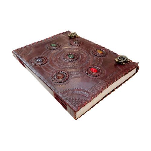 journal-intime-ou-cahier-en-cuir-7-chakras-25-x-33cm-05
